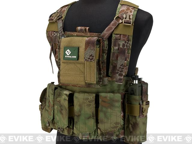 Emerson Tactical RRV Style Chest Rig - Woodland Serpent