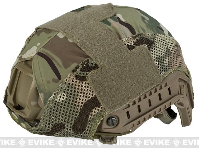 Emerson Mesh Helmet Cover for Bump Type Airsoft Helmets (Color: Camo)