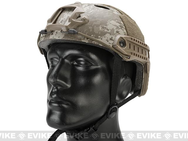 Emerson Bump Type Tactical Airsoft Helmet (PJ Type / Basic / Digital Desert)
