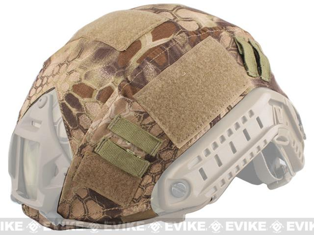 Emerson Tactical Helmet Cover for Bump Type Airsoft Helmets (Color: Desert Serpent)