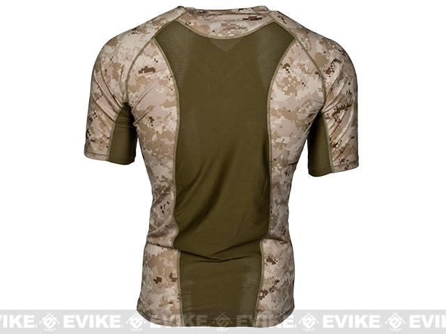 f8a0d4bc1760e Emerson Skin-tight Base Layer Camo V-Neck Running Shirt - AOR-1. Hover or  touch above to zoom. Product image 1 Product image 2. EmersonGear