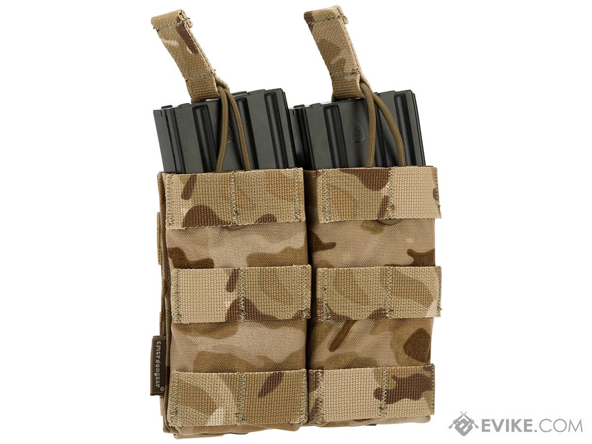 Emerson Modular Open Top Double 5.56mm Magazine Pouch (Color: Multicam Arid)