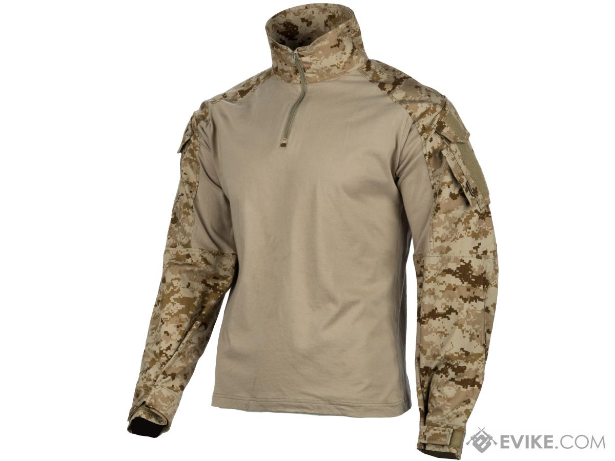 EmersonGear 1/4 Zip Tactical Combat Shirt (Color: AOR1 / Large)