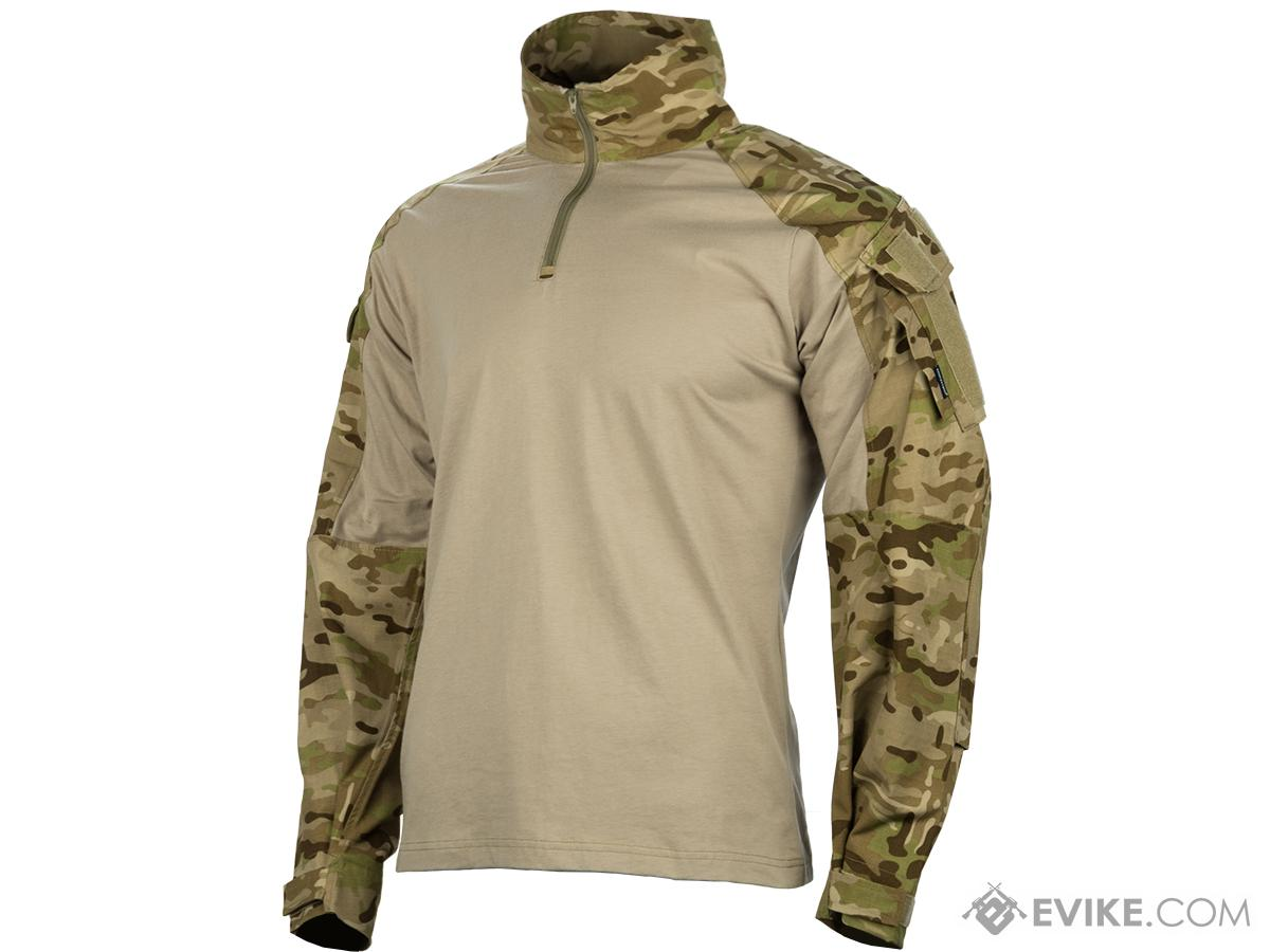 EmersonGear Blue Label 1/4 Zip Tactical Combat Shirt (Color: Multicam Arid / XX-Large)