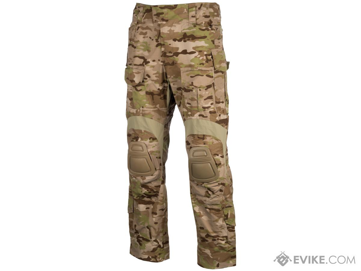 EmersonGear Blue Label Combat Pants w/ Integrated Knee Pads (Color: Multicam Arid / Size 34)
