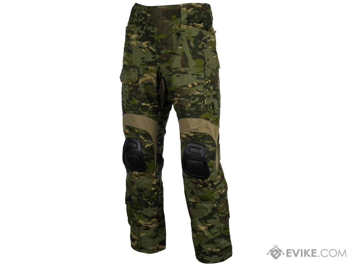 EmersonGear Blue Label Combat Pants w/ Integrated Knee Pads (Color: Multicam Tropic / Size 32)