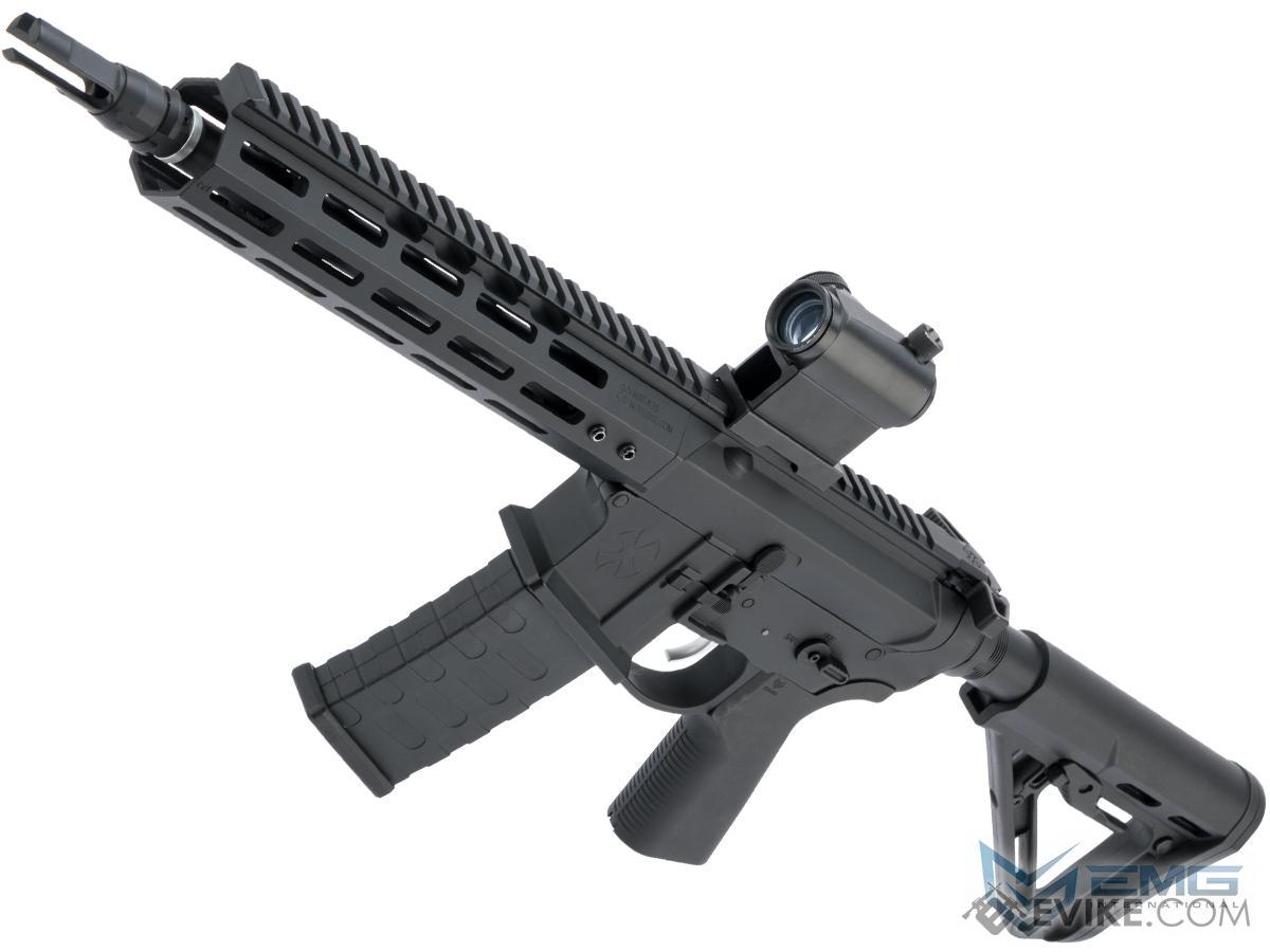 EMG NOVESKE Gen 4 w/ eSilverEdge SDU2.0 Gearbox Airsoft AEG Training Rifle (Model: Shorty / Black)