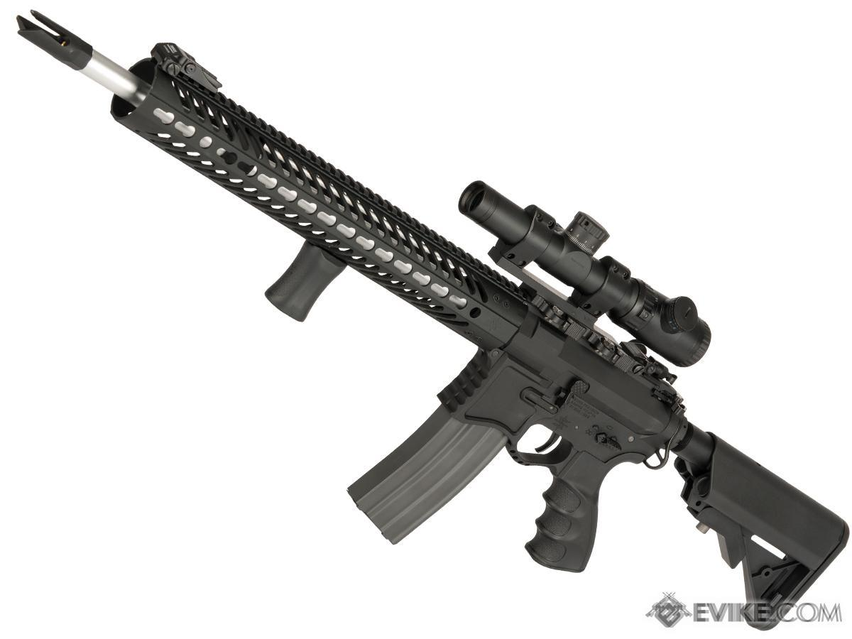EMG Seekins Precision Licensed AR-15 SP223 Advanced Airsoft M4 AEG Rifle w/ G2 Gearbox (Color: Black)