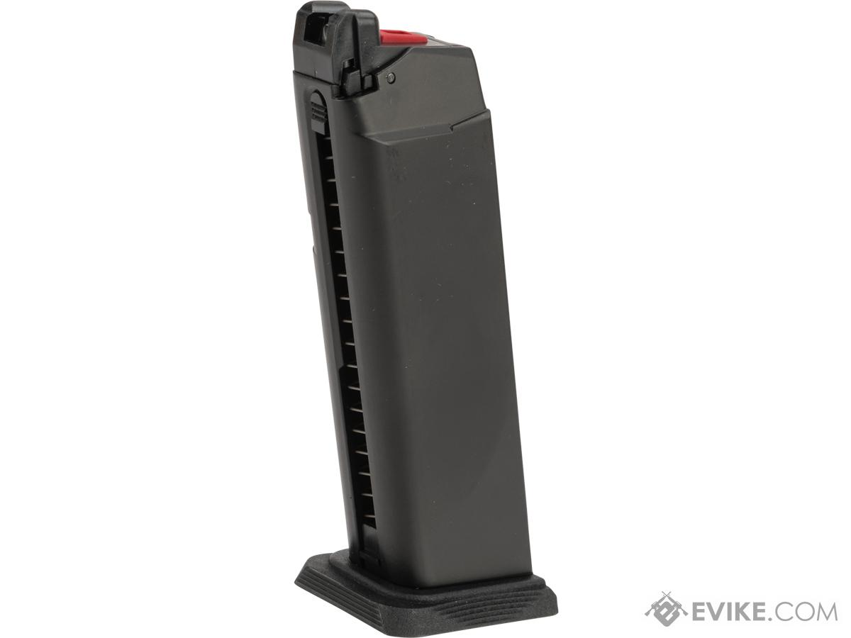 EMG Magazine for BLU & GLOCK Series Gas Airsoft Pistols (Model: Enhanced / CO2 / 25rds)