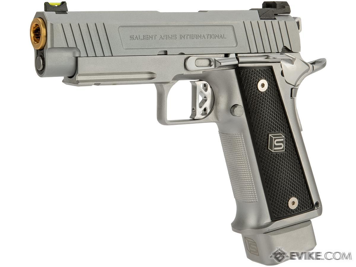 EMG / Salient Arms International 2011 DS Airsoft Training Weapon (Model:  4 3 CO2 / Silver)