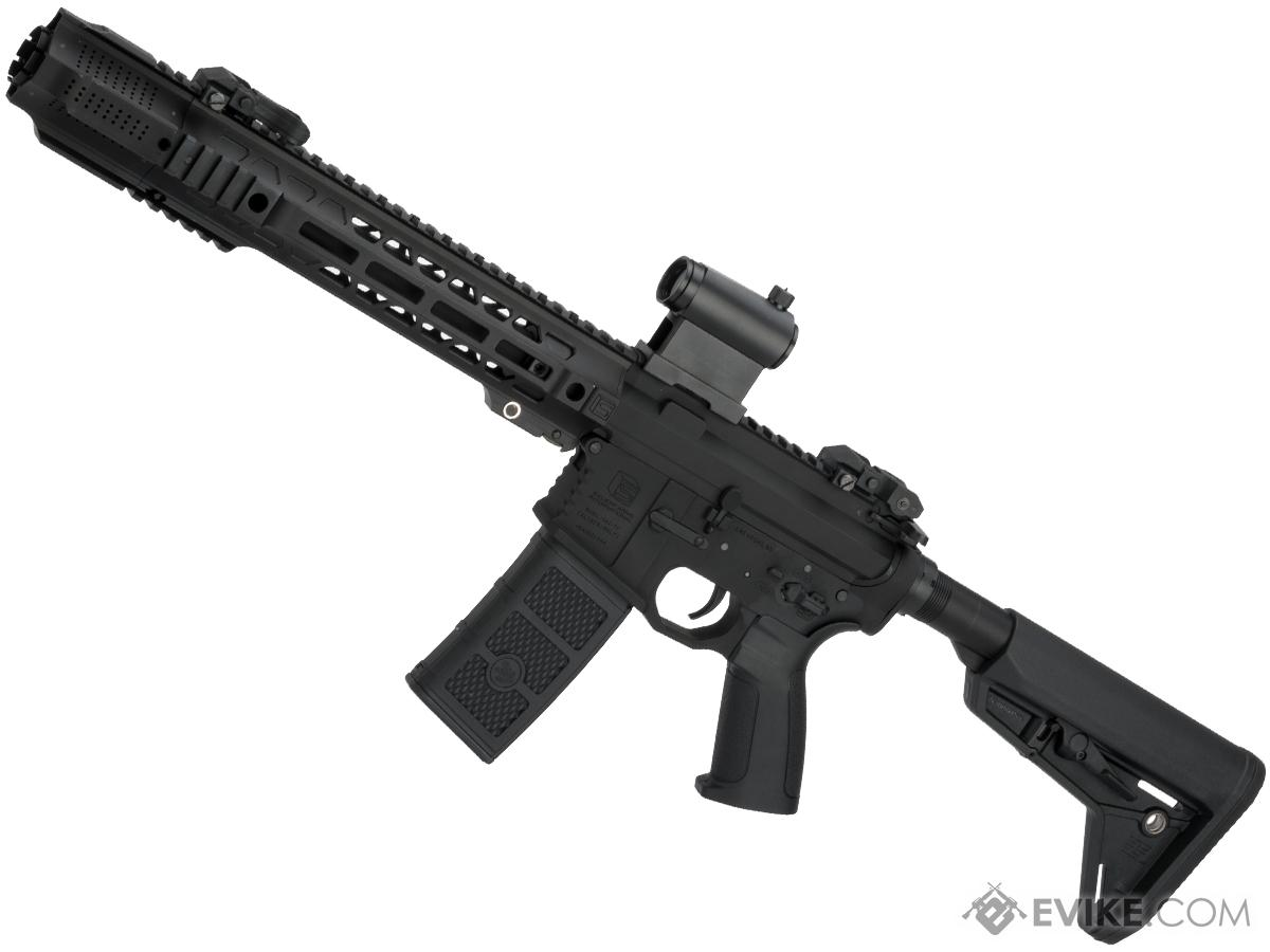 EMG / SAI GRY AR-15 AEG Training Rifle w/ JailBrake Muzzle (Configuration: SBR / Black ITAR Furniture)
