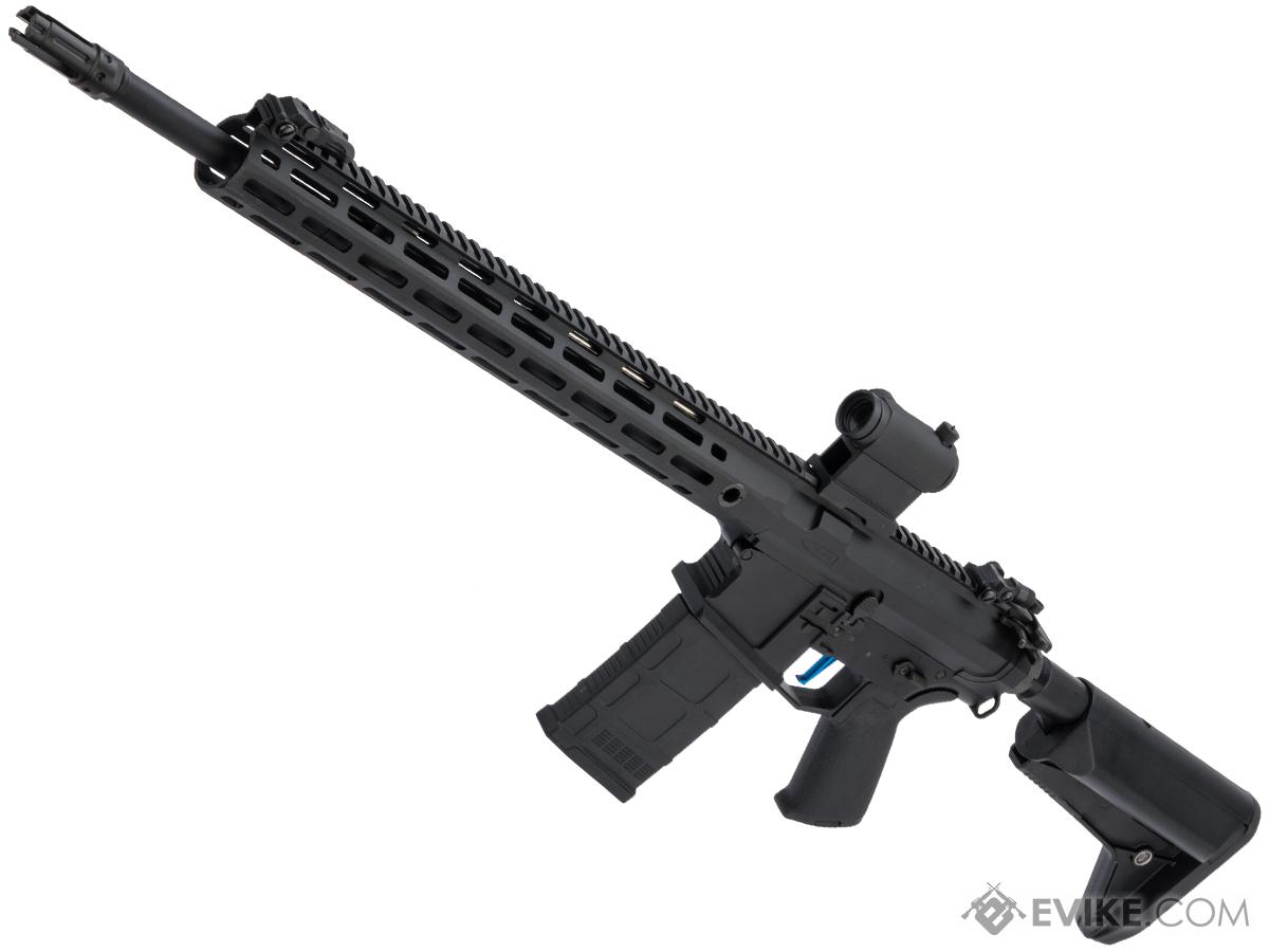 Pre-Order ETA October 2020 Evike Performance Shop Custom CYMA SR-25 QBS Airsoft AEG Designated Marksman Rifle (Model: 16.5 M-LOK / TITAN)