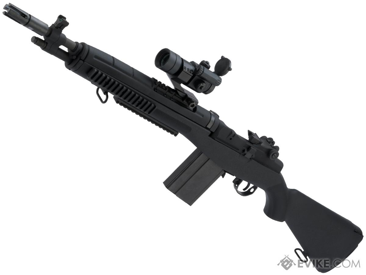 Evike Performance Shop Custom G&P M14 Advanced Scout Rifle Airsoft AEG Sniper Rifle (Color: Black)