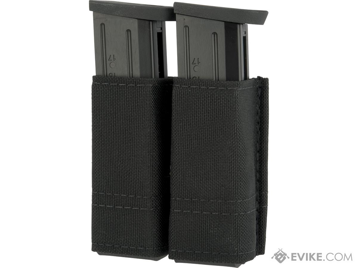 Esstac Double Pistol Magazine KYWI Pouch (Color: Black)