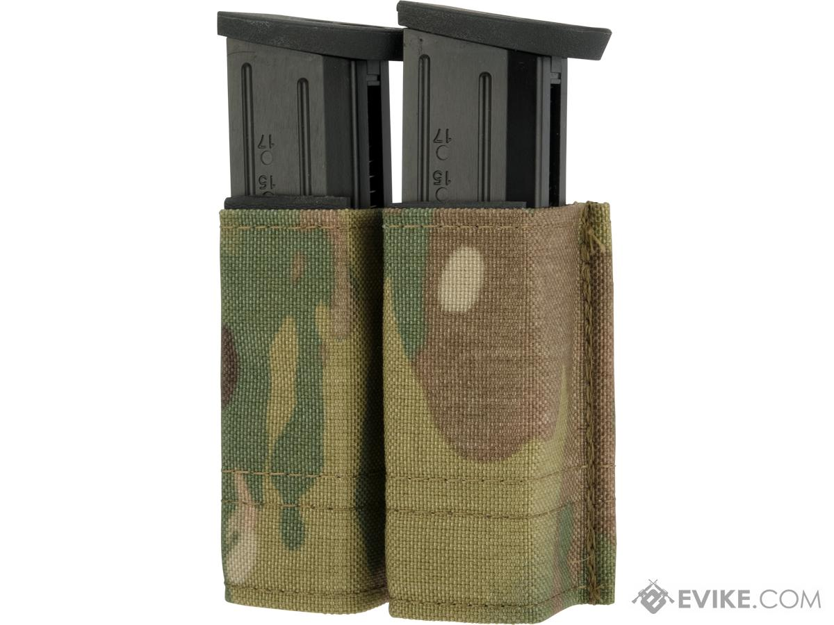 Esstac Double Pistol Magazine KYWI Pouch (Color: Multicam)