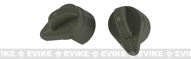 G&P Crane Stock Replacement Knob / Cover Set for Retractable Stocks (Color: Foliage Green)