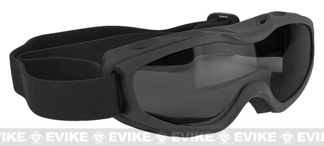 Guard-Dogs Evader II FogStopper Goggles  Full Seal - Black/Smoked