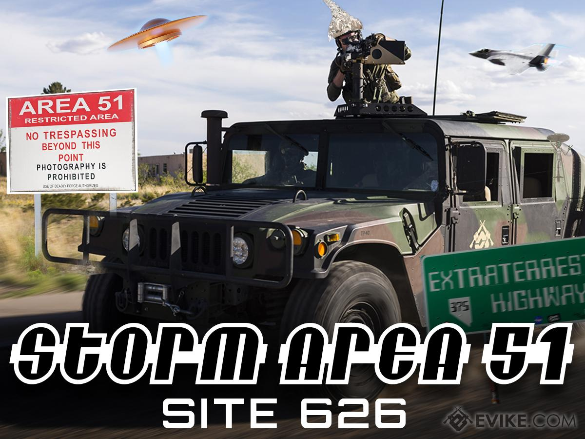 OPERATION STORM AREA 51 (Location: SITE 626 / Alhambra, California - Saturday, September 14th 2019)