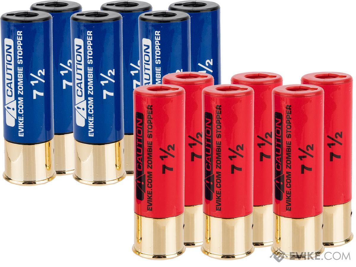 Evike Zombie Stopper 30 Round Shells for Multi & Single-Shot Airsoft Shotguns (Qty: 12 Pack)