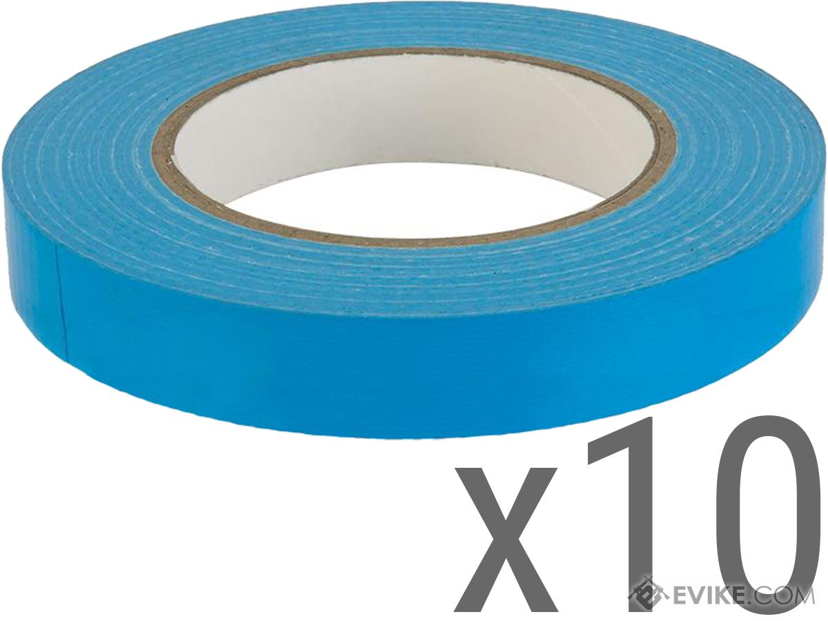 Evike.com 3/4 Official Water Resistant Airsoft Safety Marking Tape (Color: Baby Blue / 164ft / 10 Pack)