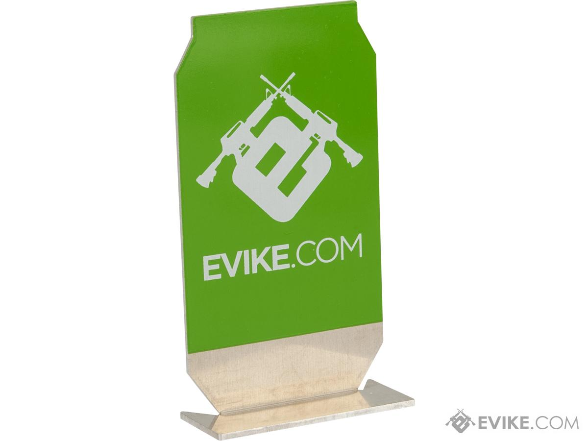 Evike.com ePopper Practical Shooting Popper Targets (Package: Evike Logo x3 / Green)