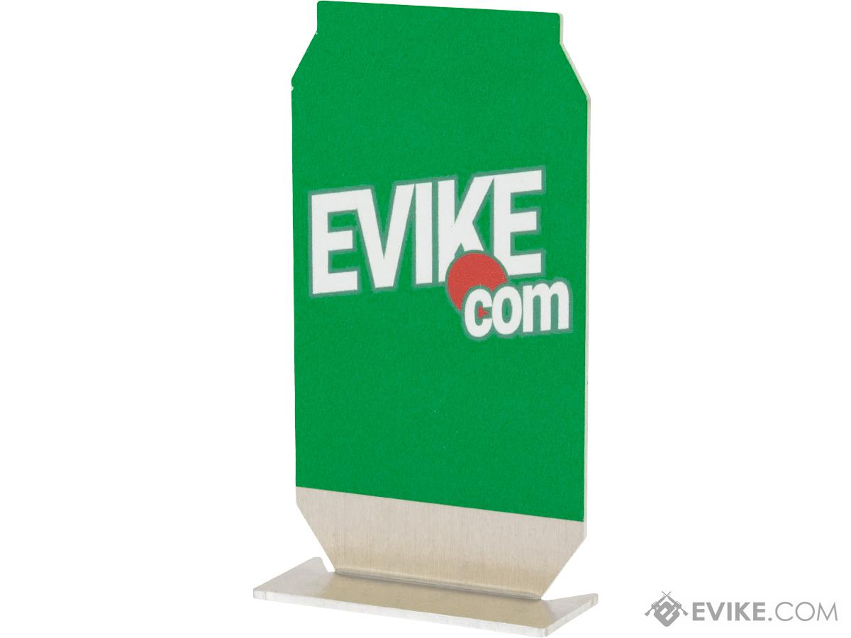 Evike.com ePopper Practical Shooting Popper Targets (Package: Evike Soda Logo x6 / Green)