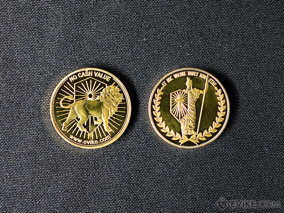Evike JW Coin Token (Color: Gold)