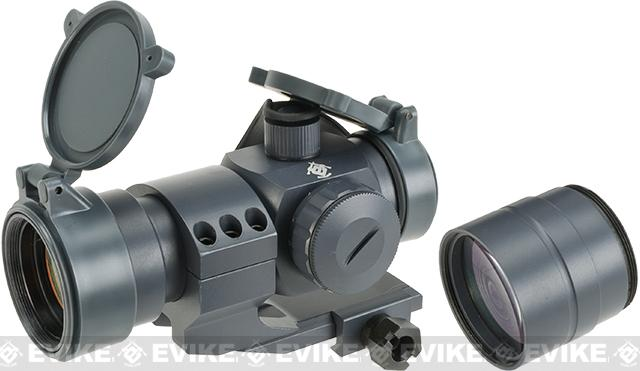 Evike Extreme 1.5x30 Red Dot Sight Scope System w/ Magnifier (Color: Wolf Grey)