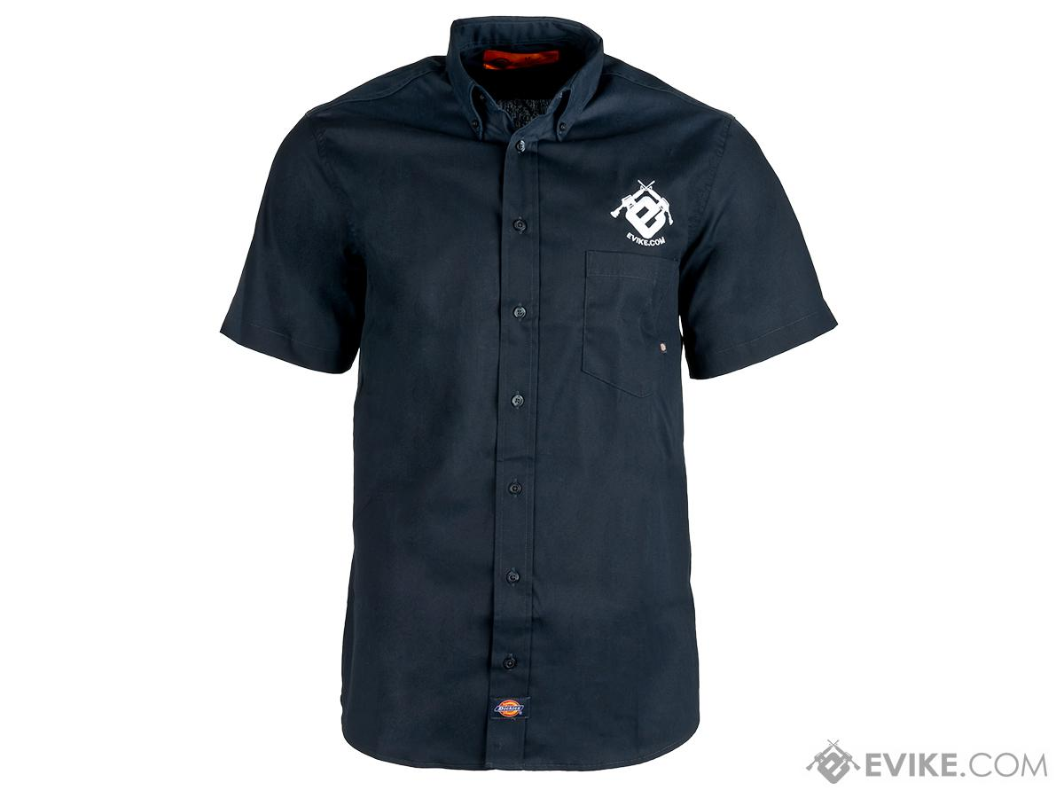 Evike.com Dickies Work Shirt - Evike Blue (Size: Small)
