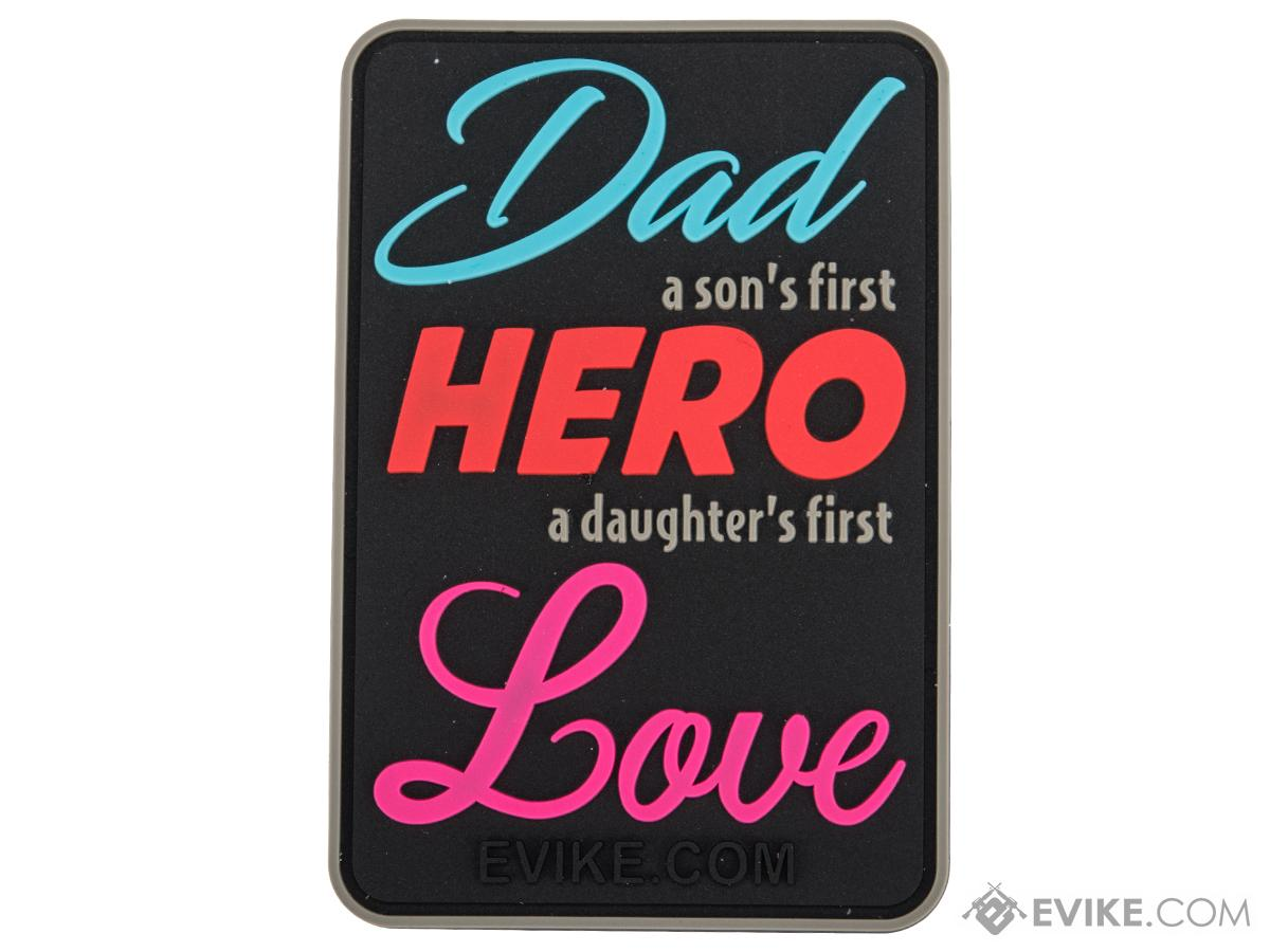 Evike.com Hero Father PVC Morale Patch