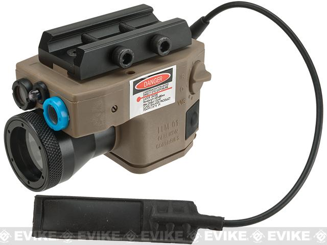 Element Multi-Function Flashlight / Laser /IR Aiming Device for Airsoft (Color: Dark Earth)