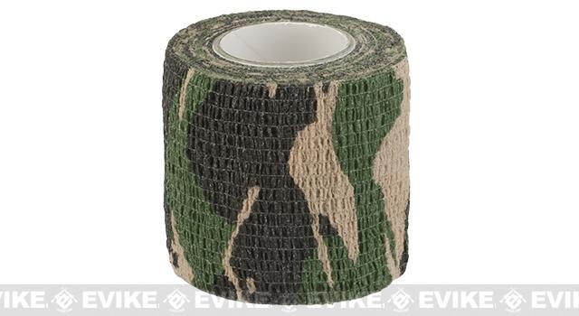 Protective Camo Wrap ( 2 x 180) - Woodland