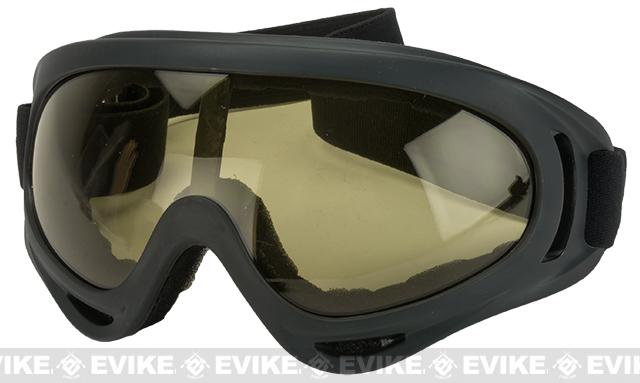 Element HERO Airsoft Full Seal UV Hi-Flow Extreme Sports Tactical Airsoft Goggles (Color: Tawny)