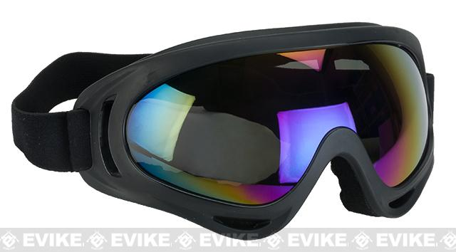 c53a1b9f5aa Element HERO Airsoft UV Hi-Flow Extreme Sports Tactical Airsoft Goggles  (Color  Mirrored