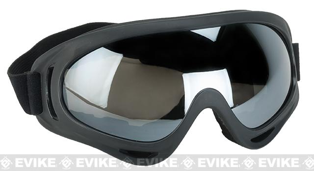 Element HERO Airsoft Full Seal UV Hi-Flow Extreme Sports Tactical Airsoft Goggles (Color: Smoked)