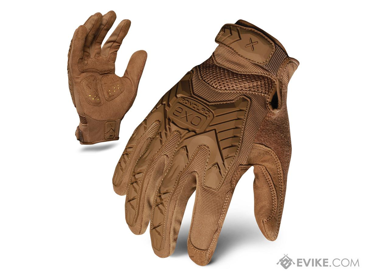 Ironclad Exo Tactical Impact Glove - Coyote (Size: Small)
