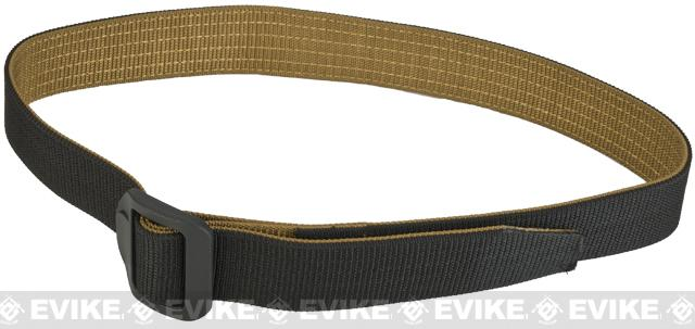 PROPPER 180 Reversible Nylon Belt - Black / Coyote (Size: Large)