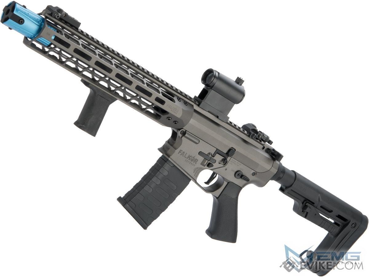 EMG Falkor AR-15 Blitz SBR Training Weapon M4 Airsoft AEG Rifle (Color: Falkor Grey / eSE)