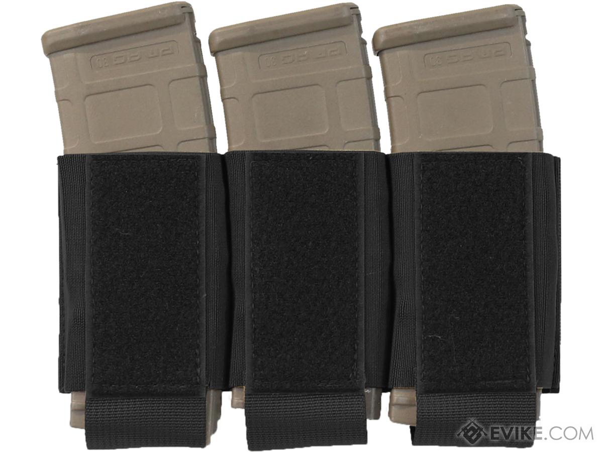 Ferro Concepts Turnover Triple 556 Magazine Pouch (Color: Black)