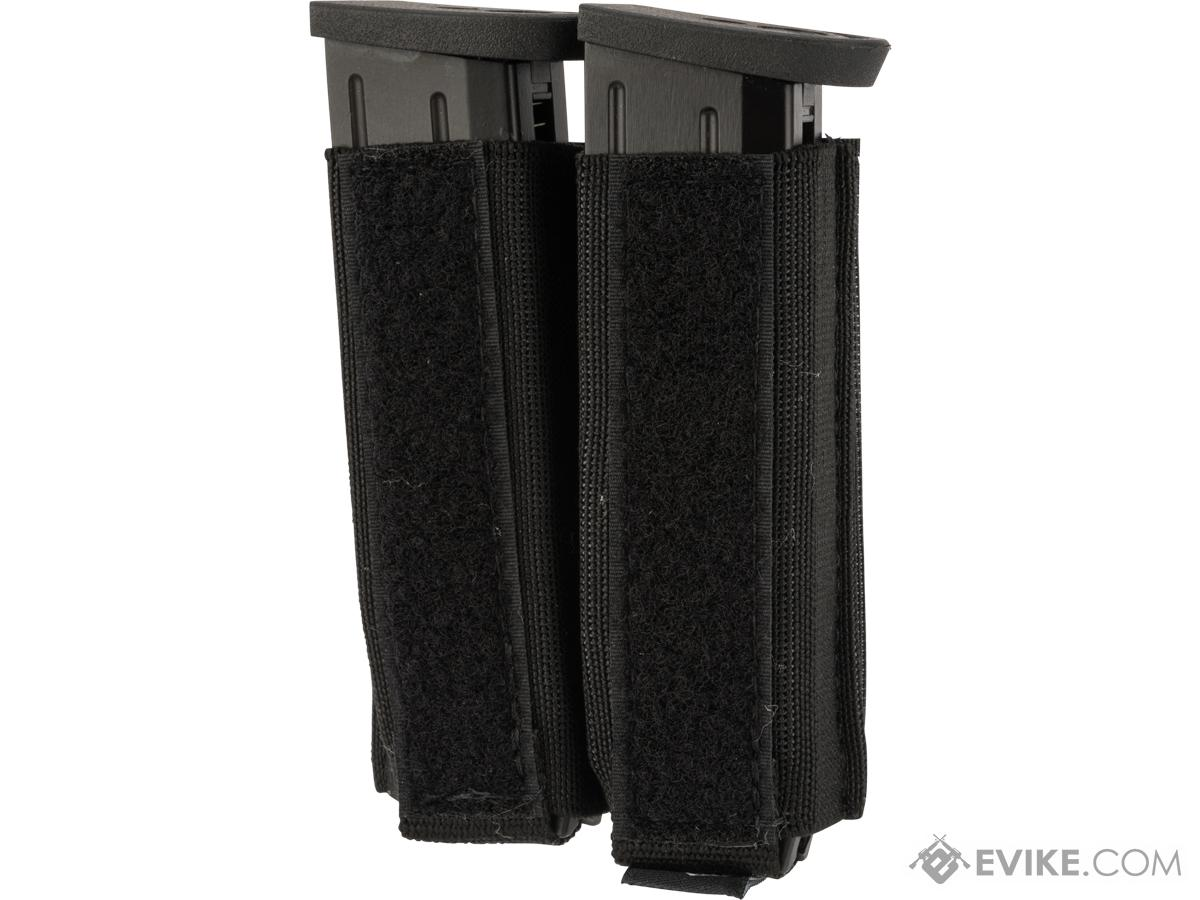 Ferro Concepts Turnover Double Pistol Magazine Pouch (Color: Black)