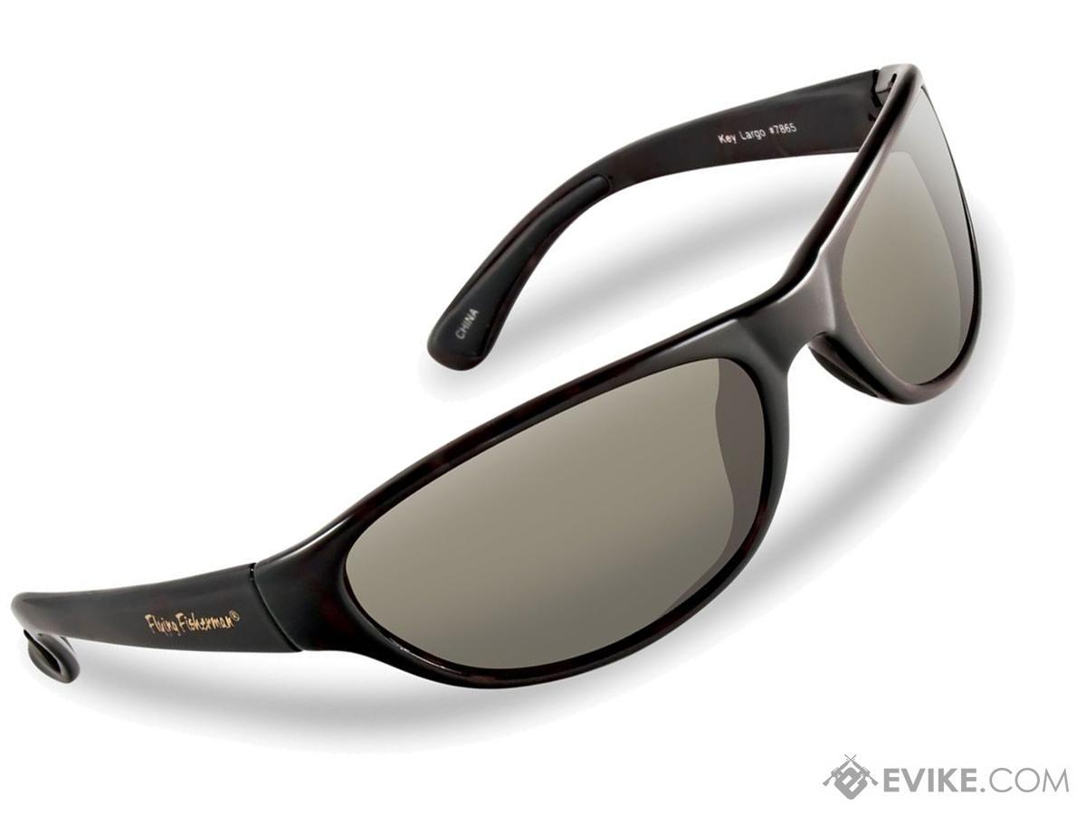 73d2fa7f5e Flying Fisherman Key Largo Polarized Sunglasses (Color  Matte Black w   Smoke Lens)