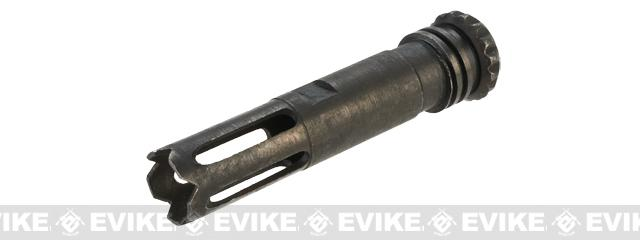 Matrix Mk18 SCAR-H Type Flash Hider - 14mm Negative