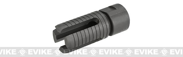 WE CNC Steel 4 Prong Style Flash Hider - 14mm Negative