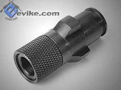 G&G MP5 / PM5 Type Steel Flashhider w/ 14mm- Threading for Attachments.
