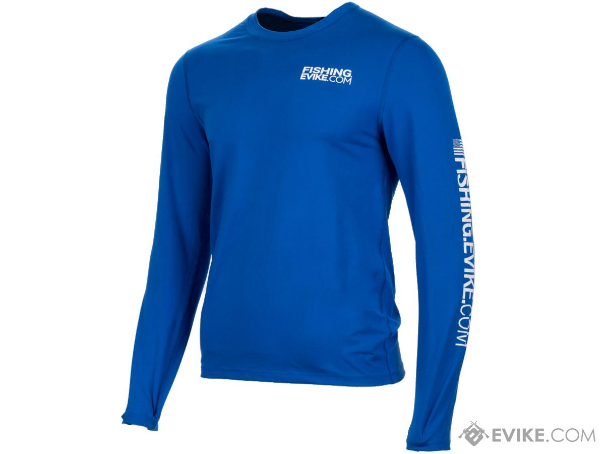 Fishing.Evike Jack Pot Long Sleeve Team Evike Fishing Shirt (Size: Medium)