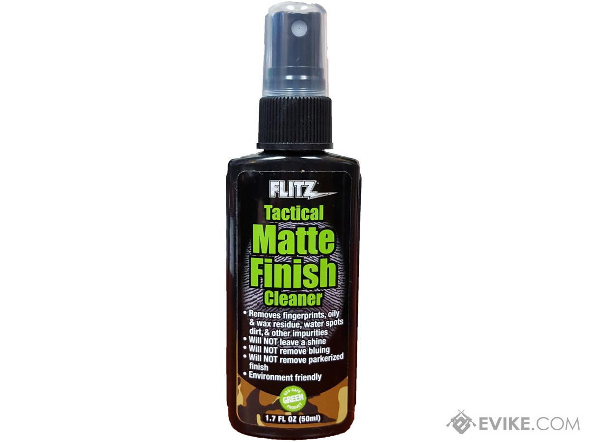 Flitz Tactical Matte Finish Cleaner (Size: 1.7oz)