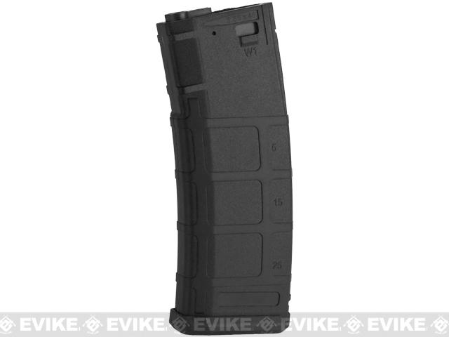 S&T 350rd Polymer Flash Magazine for M4 A&K Masada Series Airsoft AEG (Color: Black)