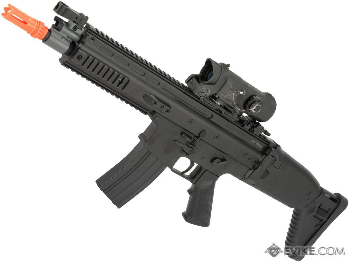 FN Herstal Licensed SCAR-L Airsoft AEG Rifle by Cybergun (Color: Black)