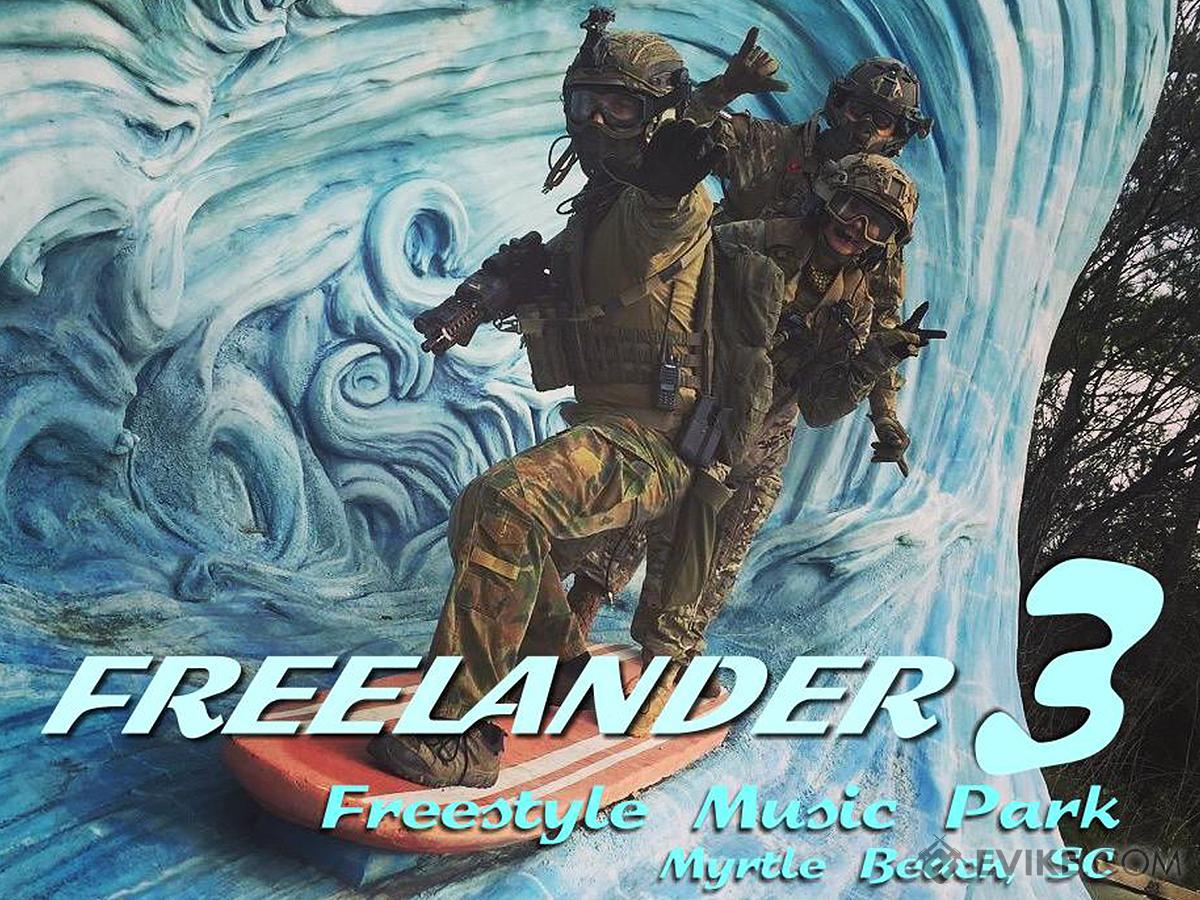 Operation Freelander III (November 3-5, 2017, Free Style Music Park , Myrtle Beach, South Carolina) (Force: SOCOM/ Single Ticket)