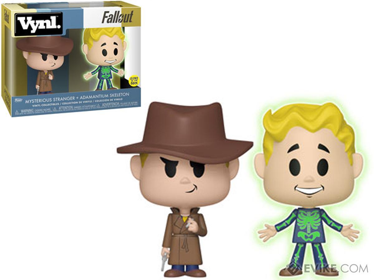 Funko VYNL Fallout Adamantium Skeleton and Mysterious Stranger Vinyl Figures